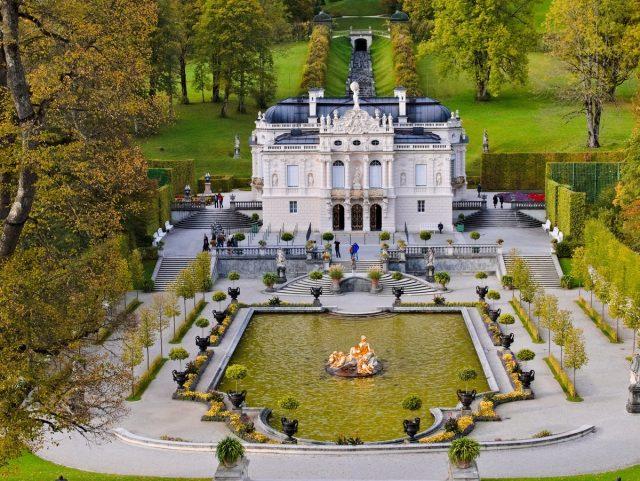 Schloss Linderhof, Ammergau Alps, Ammergauer Alpen, Oberammergau