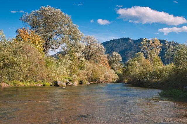 Ammer, Oberammergau, Ammergau Alps, Ammergauer Alpen