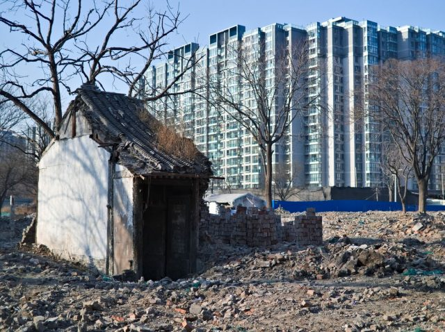Demolition of Beijing's Hutongs