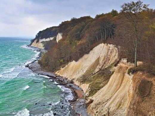 Rügen Island Chalk Cliffs