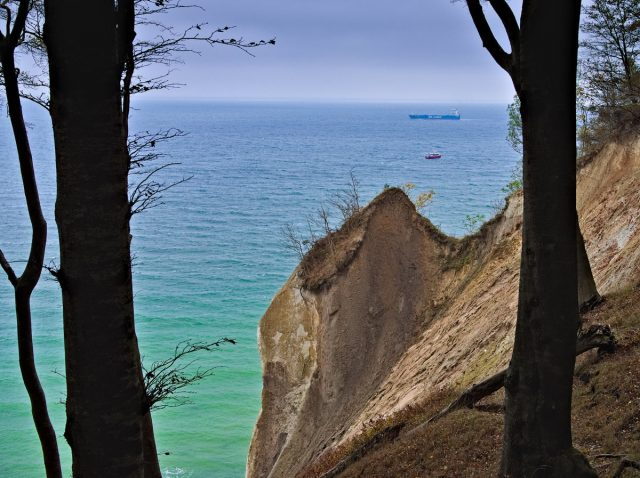 Rügen Island Chalk Cliffs