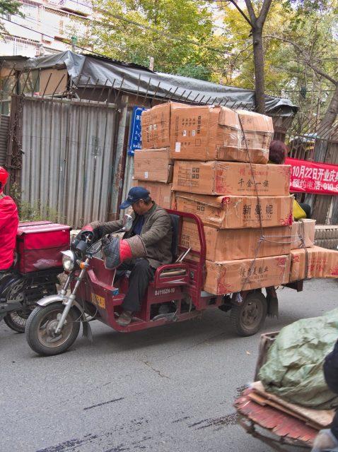 Beijing Street Scene, Overweight