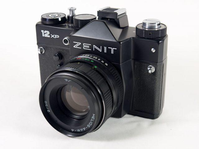 Zenit 12XP, Helios 44M