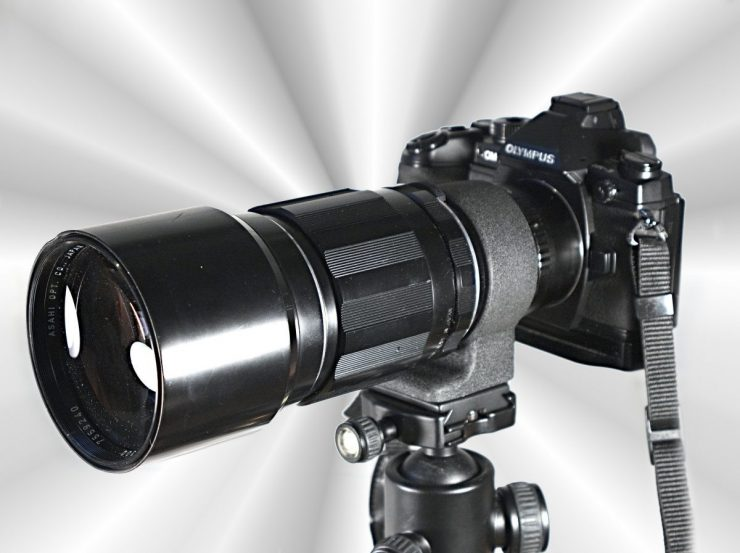 Vintage Lens Alarm: Pentax SMC Takumar 300/4 M42