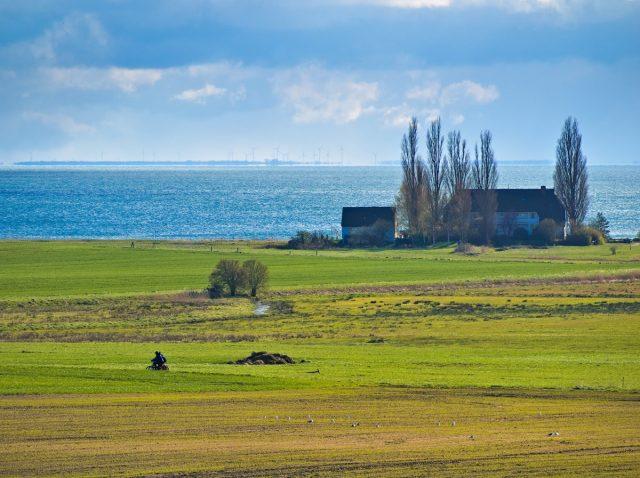 Rügen Island Mönchgut Groß Zicker, Hagensche Wiek