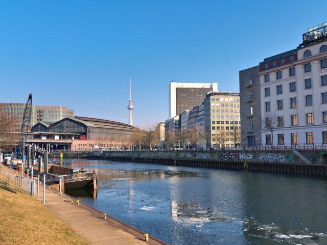 Berlin Mitte, Friedrichsstraße, Spree