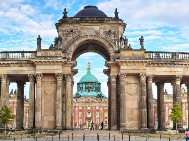 Potsdam, Schloss Sanssouci, Neue Palais
