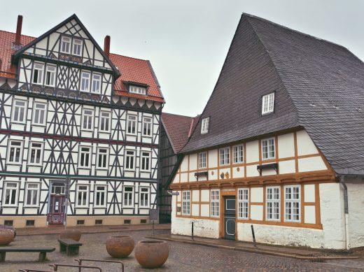 Half-Timbered Buildings, Goslar, Harz