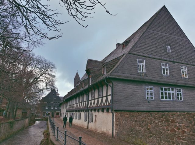 Half-Timbered Buildings, Goslar, Harz