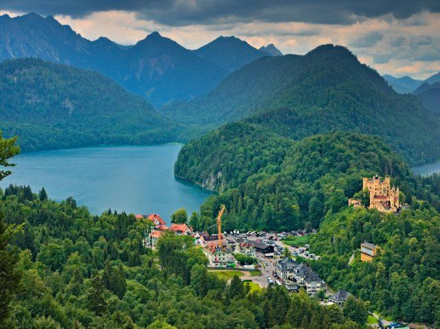 Hohenschwangau, Alps, Alpen, Alpsee, Allgäu