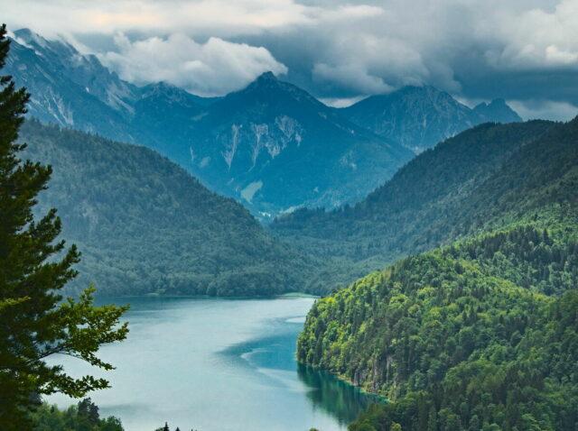 Alps, Alpen, Alpsee, Allgäu