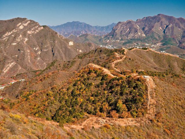 墩台山 - 三界碑 Yanshan Mountains