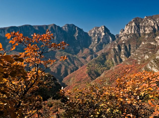 坡峰岭 Taihangshan Mountains