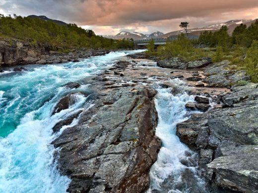 Norway Jotunheimen Sjoa