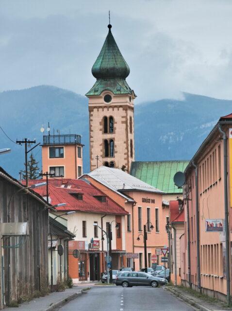 Slovakia Tatra Mountains Liptovský Mikuláš