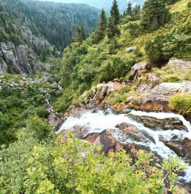 Elbfall, Labský vodopád, Riesengebirge, Krkonoše, Karkonosze