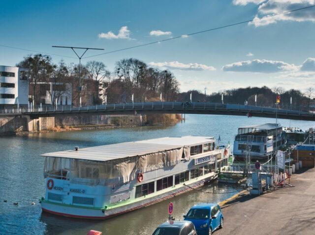 Kassel Cityscapes, Fulda river