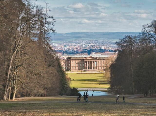 Bergpark Wilhelmshöhe with Schloss Wilhelmshöhe in Kassel